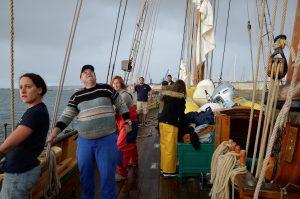 Sortie à bord de La Recouvrance © Don Bosco